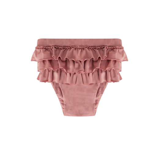 Maed for mini - Funky Flamingo Ruffle Swim Shorts (ss2019-63)