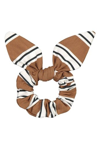 Kaiko - Bow scrunchie, Hazel stripe
