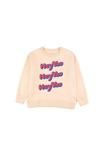 Tinycottons - Hey you sweatshirt, cream red