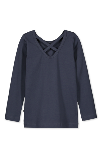 Kaiko - Cross Shirt Ls, Indigo
