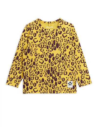 Mini Rodini - Leopard grandpa, yellow