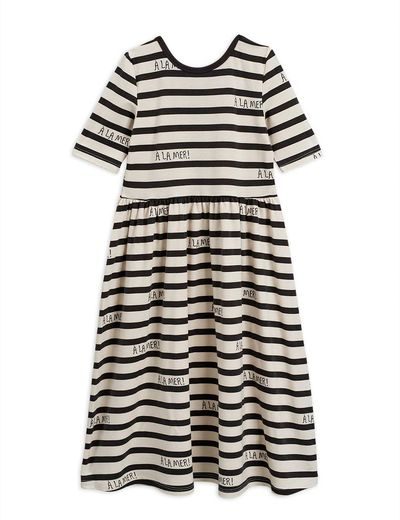 Mini Rodini - A´la mer SS dress, offwhite