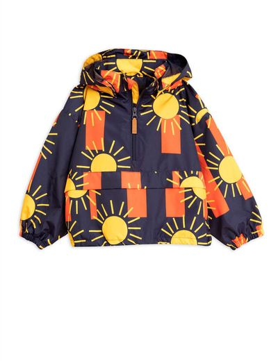Mini Rodini - Sun stripe anorak, Blue