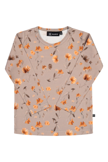 Kaiko - Poppy field T-shirt LS