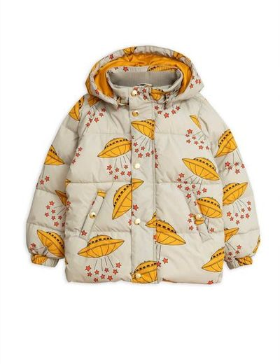 Mini Rodini - Ufo puffer jacket, Grey