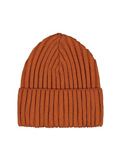 Mainio - Rib beanie, Rusty red