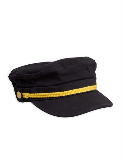 Mini Rodini - Skipper hat, black