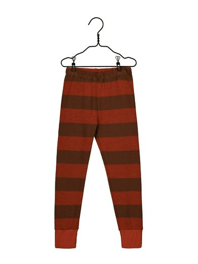 Mainio -  Field knit pants, paprika/cinnamon (40001)