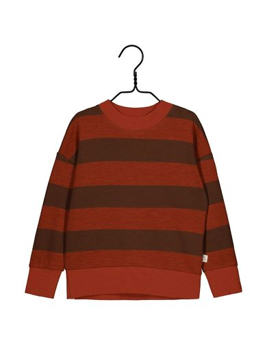 Mainio -  Field knit shirt, paprika/cinnamon (40000)