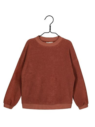 Mainio - Terry shirt, russet (40016)