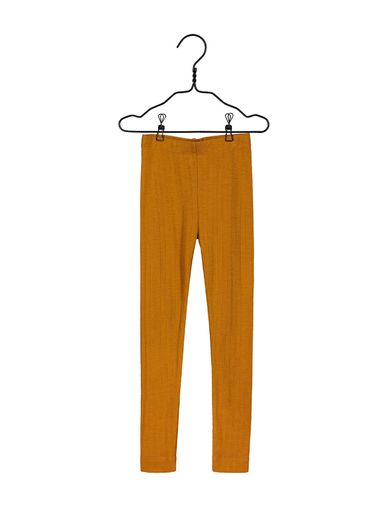 Mainio -Merino wool leggings, turmeric  (40007)