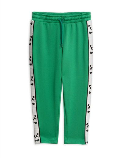 Mini Rodini - Panda wct pants, green