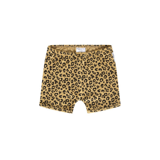 Maed for mini - Yellow Leopard shorts (ss2019-19)